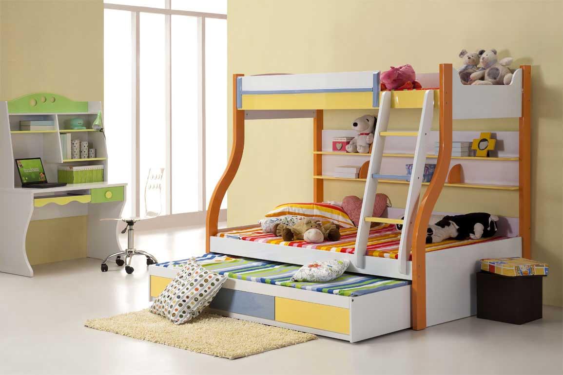 decoracao alternativa de quarto infantil:Bunk Bed Designs for Kids Rooms